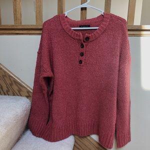 American Eagle Henley Sweater
